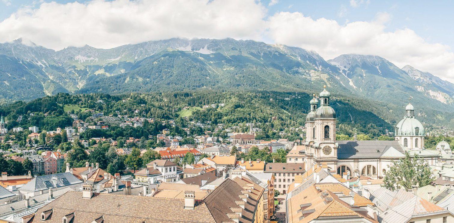 Die Alpen vor den Toren der Stadt