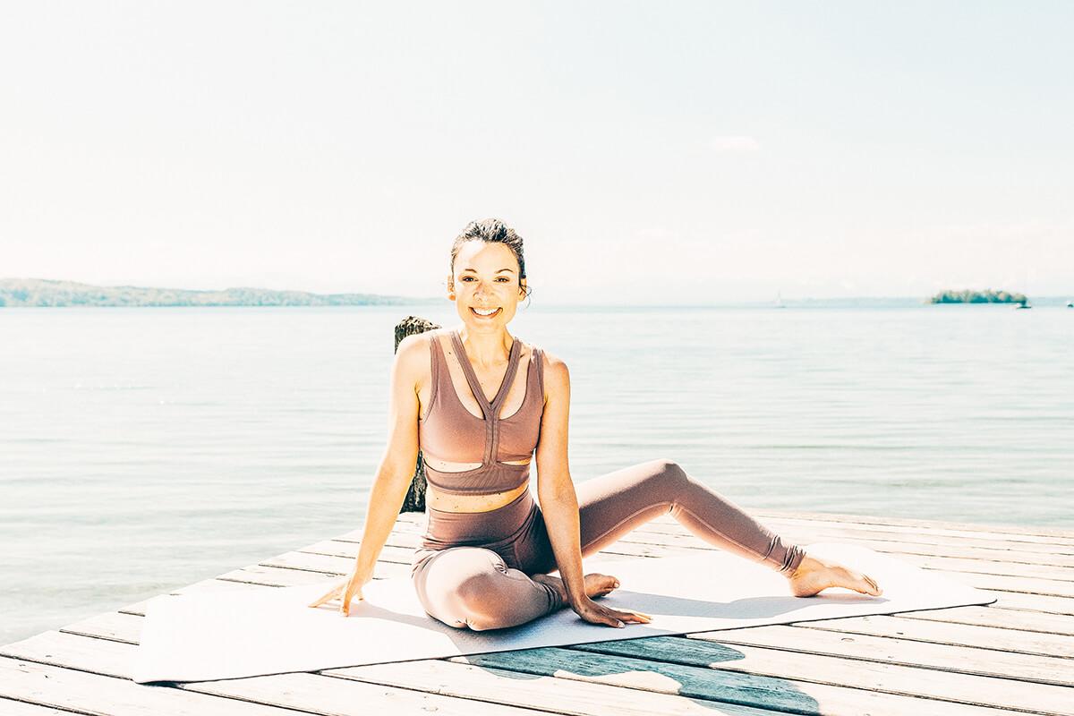 Tägliche Yogaeinheiten für alle Levels geeignet