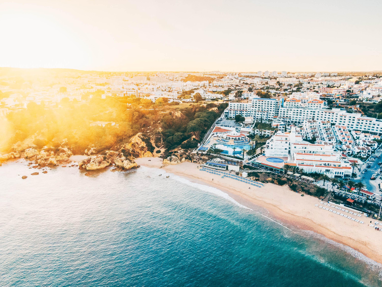 Einzigartige Küstenlandschaft in Portugal